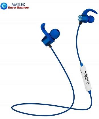 Euro Games Headphones Bluetooth Wireless Earphones