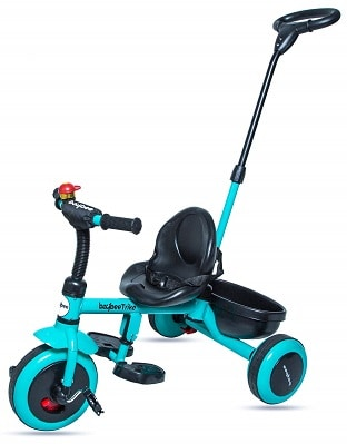 GoodLuck Baybee - 2 in 1 Convertible Baby Tricycle Kids