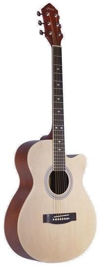 Hertz HZA 4010 Aoustic Guitar Natural