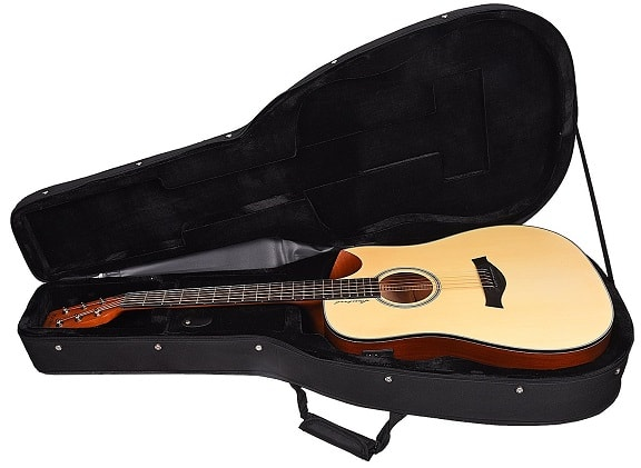 Kadence Slowhand Series Premium Acoustic Guitar, Spruce Top with Hard Case