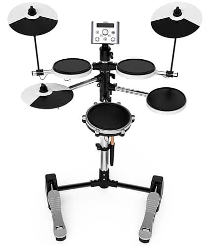 LC Prime Electronic Drum Set, Build-in Metronome USB Port for Training