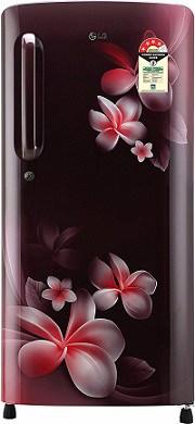 LG 190 L 4 Star Direct Cool Single Door Refrigerator Smart