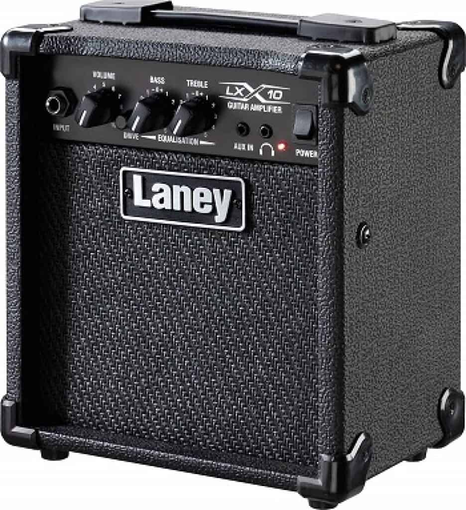 Laney LX10 10W Guitar Amplifier with Clean Overdrive Channels