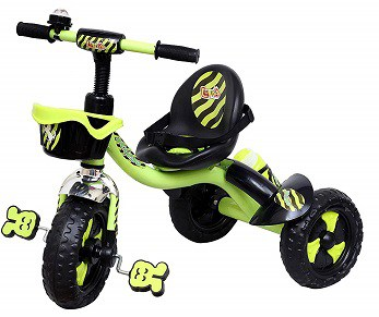Luusa Rx-250 Tricycles for Kids with Seat Belt and Sipper