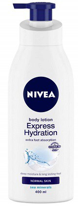 NIVEA Body Lotion, Express Hydration With Sea Minerals
