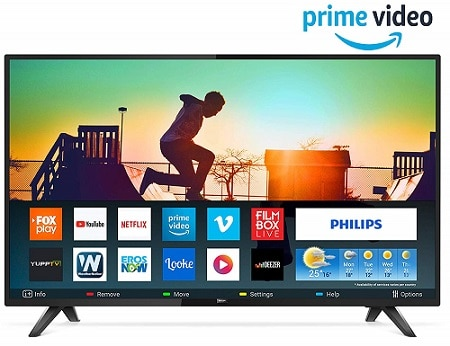 Philips 108 cm (43 inches) 5800 Series Full HD LED Smart TV