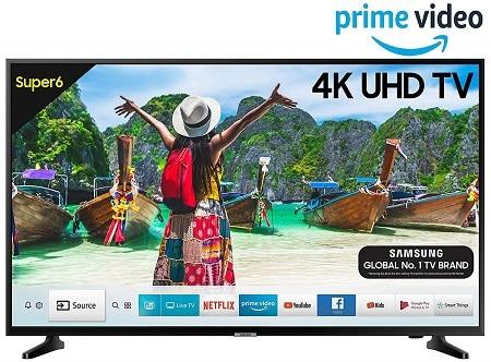 Samsung 138 cm (55 Inches) Super 6 Series 4K UHD LED Smart TV