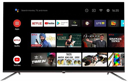 Sanyo 108 cm (43 inches) Kaizen Series 4K Ultra HD Smart Certified Android IPS LED TV