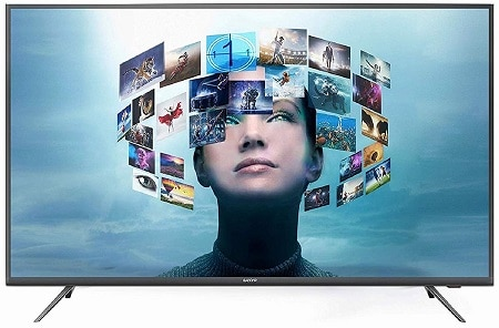 Sanyo 138.8 cm (55 Inches) 4K UHD IPS LED Smart Certified Android TV