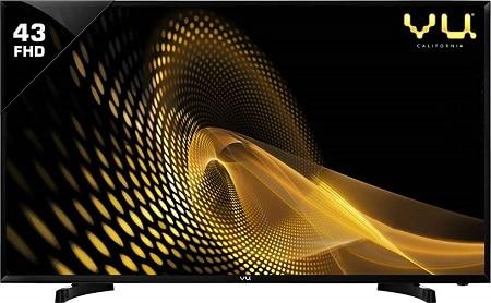 VU 108 cm (43 Inches) Full HD Smart LED TV 43PL