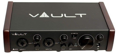 Vault Ai22 2x2 USB Audio Interface with Bitwig 8-Track Software and Free Online Course