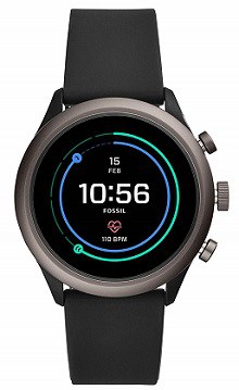Fossil Sport Smartwatch 43mm Black