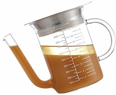 HIC Brands that Cook Gravy Separator 1.5 Cup