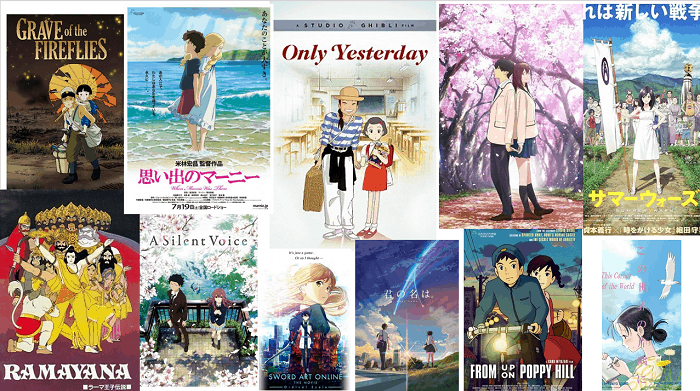 best anime movies