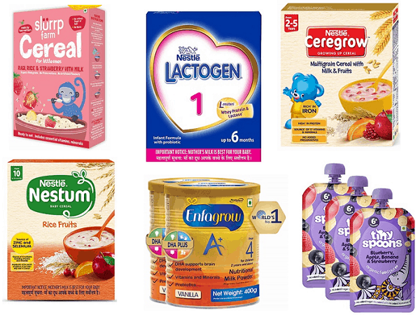 best baby food products in India