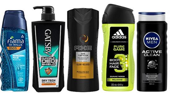 Best Shower Gels for Men in India