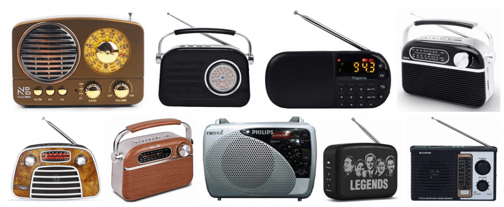 Best Portable FM Radio Speaker in India
