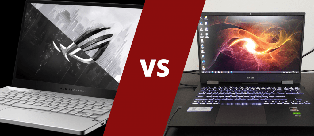 HP Omen 15 vs Asus ROG Zephyrus G14