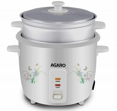 AGARO - 33307 Supreme 1-Litre Rice Cooker