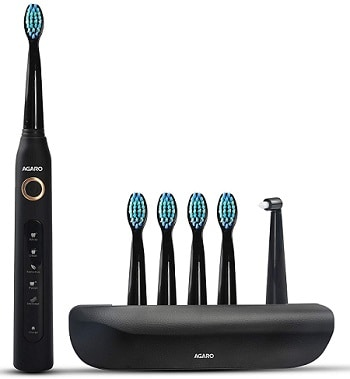 AGARO COSMIC PLUS Sonic Electric tooth brush Review 2