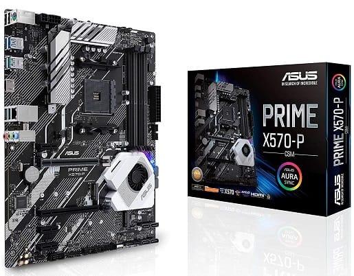 Asus Prime X570-P CSM AMD AM4 ATX Motherboard