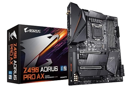 GIGABYTE Z490 AORUS PRO AX with Direct 12 Phases Digital VRM Design