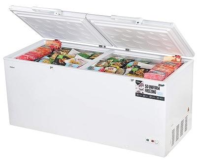Haier - Double Door Hard Top Deep Freezer HCC 588HC