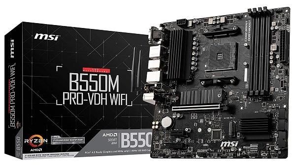MSI B550M PRO-VDH WiFi DDR4