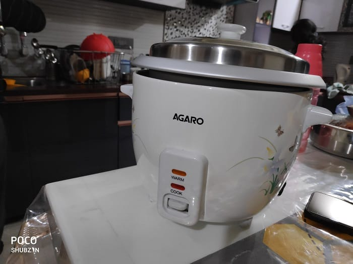 AGARO - 33307 Supreme 1-Litre Rice Cooker Review