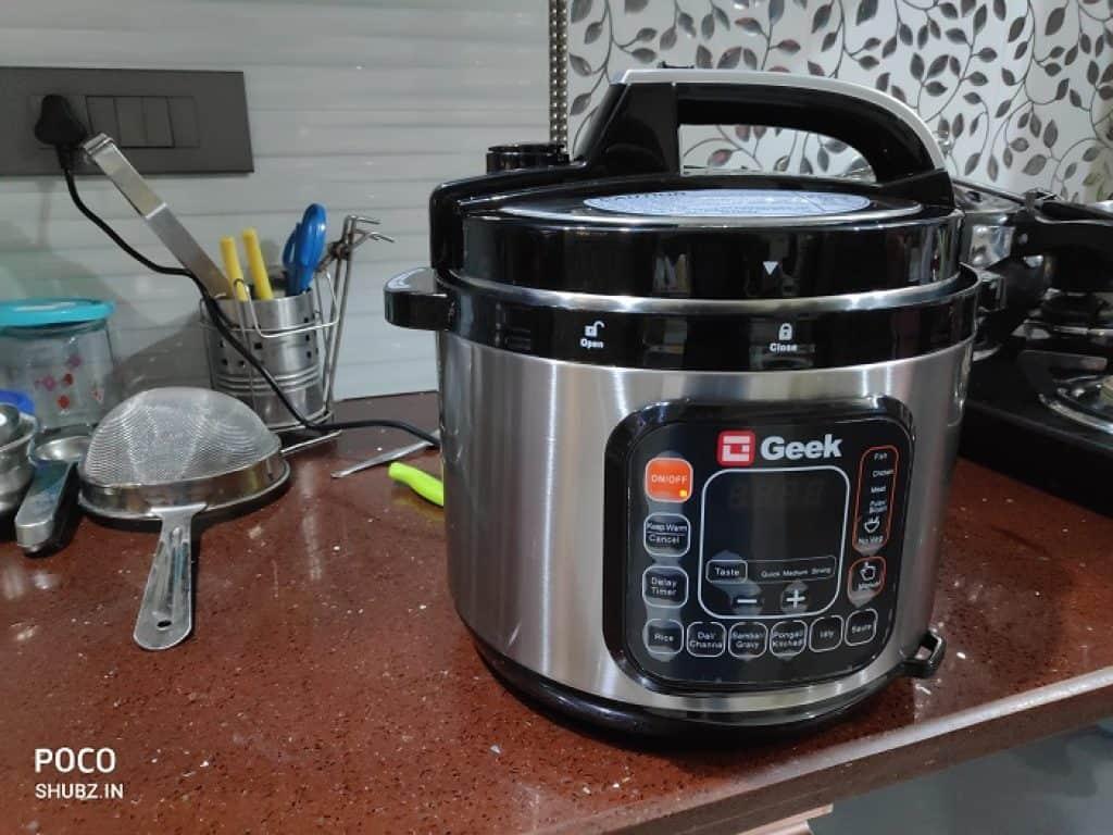 Geek Robocook Automatic 8 Litre Electric Pressure Cooker