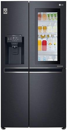 LG 668 L InstaView Door-in-Door Wi-Fi Inverter linear Frost-Free Side-By-Side Refrigerator