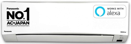 Panasonic 1 Ton 5 Star Wi-Fi Inverter Split Air Conditioner