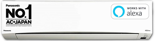 Panasonic 2 Ton 5 Star Wi-Fi Twin Cool Inverter Split AC