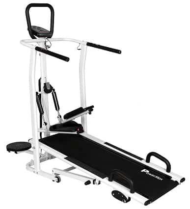 PowerMax Fitness MFT-410 Manual Treadmill Review