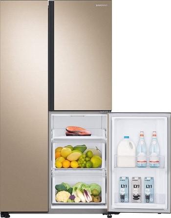 Samsung 689 L Frost Free Side Inverter Technology Star Refrigerator