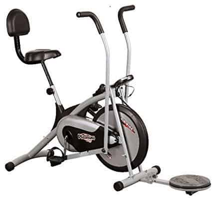 Body Gym Air Bike Platinum DX Exercise Cycle With Back & Twister Review