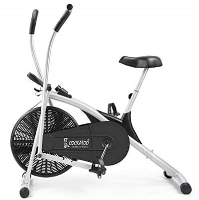 Cockatoo AB06 Stainless-Steel Indian Exercise Bike for Home Gym