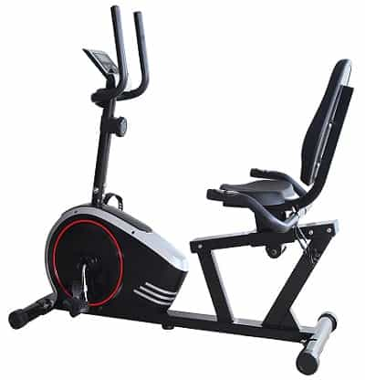 Durafit Glider Recumbent Exercise Bike for Home Use