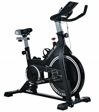 Fitkit FK717 (14lbs Flywheel) with Free Diet Plan,Trainer & Installation Services Spinner Exercise Bike Review