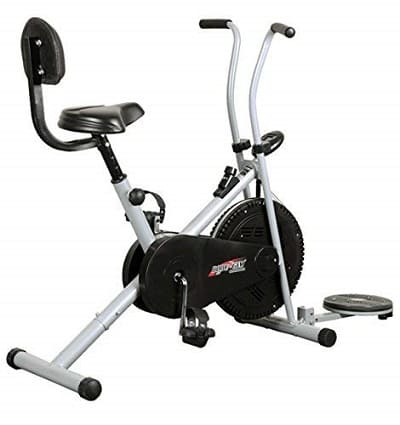 Healthex HX100 Exercise Gym Cycle 1001 with Back Support and Twister Review