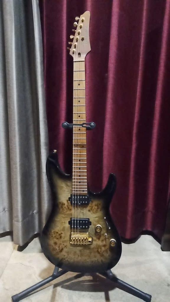 Ibanez Premium AZ242PBG Electric Guitar Review 1