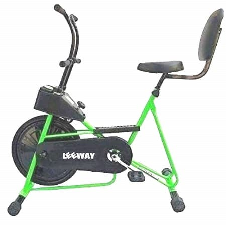 LEEWAY Exercise Cycle with Back Support Fix Handle Gym Bike Review