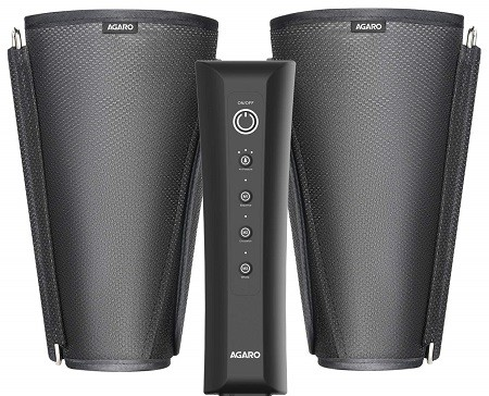 AGARO 33432 Air Compression Leg Massager for Foot, Arm & Calf with Controller