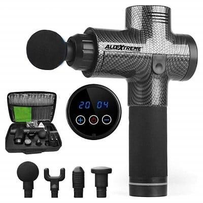 AllExtreme MG-01 Massage Gun Portable Vibration Muscle Body Massager