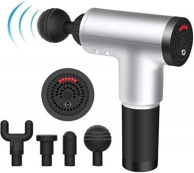 Milford 6 Speeds Massage Gun, Cordless Handheld Deep Tissue Muscle Massager