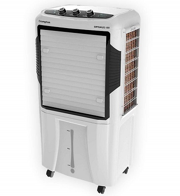 Crompton Optimus 100-Litre Inverter Compatible and Portable Desert Air Cooler